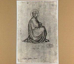 Zittende Maria Magdalena