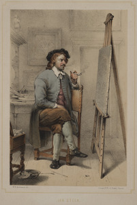 Portret van Jan Havicksz. Steen (1625/1626-1679)