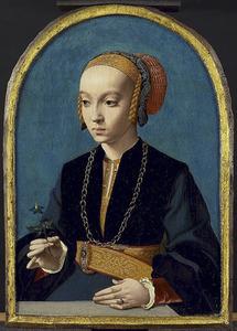 Portret van Elisabeth Bellinghausen