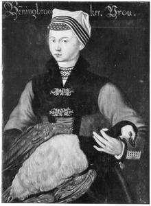 Vrouw uit Benningbroek in streekkostuum