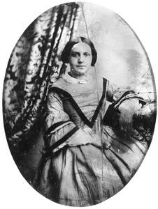 Portret van Christina Elizabeth Plaat (1834-1900)