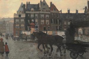 Het beurspoortje in Amsterdam
