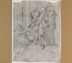 Petrus en Johannes genezen een lamme (Handelingen 3:1-10)