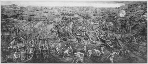Vertrek van het leger van Karel V uit Goleta in Tunesië