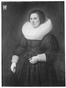 Portret van Anna van Muijlwijck (1576-1660)
