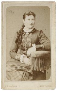 Portret van Sytske Aukes Ykema (1862-1938)