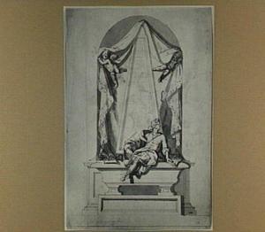 Funerair monument voor een dichter