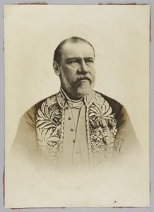 Portret van Tiemen Cornelis Johannes Kroesen (1823-1902)