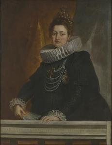 Portret van aartshertogin Isabella Clara Eugenia