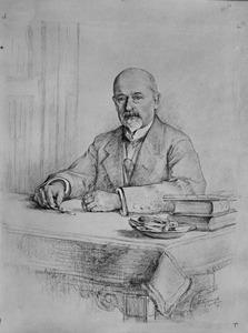 Portret van Nicolaas Bosboom (1855-1937)