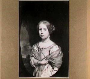 Portret van een meisje, waarschijnlijk Agatha van Loon (1666-1699)