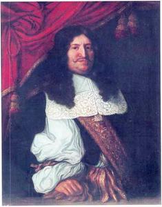 Portret van Frederik Willem I, de Grote Keurvorst van Brandenburg (1620-1688)