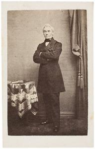 Portret van een man, waarschijnlijk Albrecht Frederik Insinger (1788-1872)