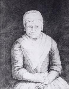 Portret van Sara Jans Geldorp (1705-1803)