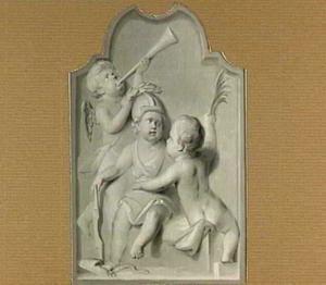 Allegorische voorstelling met putti