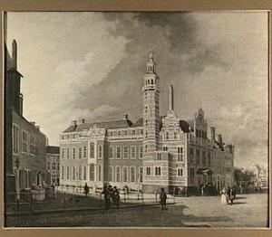 Het Oude Stadhuis aan de Groenmarkt