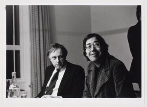Portret van Wim Beeren en Franck Gribling