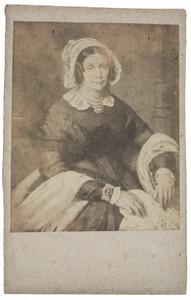 Portret van Jacqueline Johanna Strick van Linschoten (1794-1862)