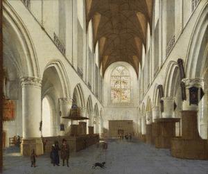 Gezicht in de St. Bavo te Haarlem