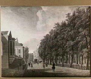 Het Plein in Den Haag gezien naar de Korte Vijverberg