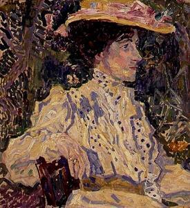 Portret van Madame B.