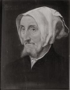 Portret van Marguerite Halseber (of Halscher)