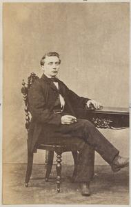 Portret van een zoon van Roimer Wigersma (1809/1810-...) en Dirkje Kramer (1816/1817-...)