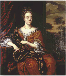 Portret van Helena Canter-Gruys (1645-1700)
