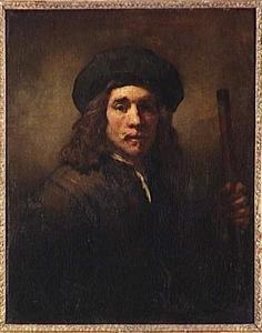 Jonge man met een stok