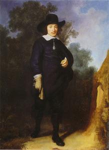 Portret van Dirck Jacobsz Leeuw (1614-1647)