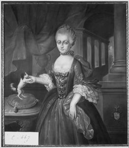 Portret van Anna Elisabeth Chastelein (1741-1773)