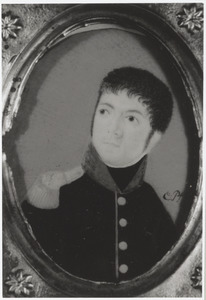 Portret van Hendrik Lodewijk van de Merwede (1772-1847)