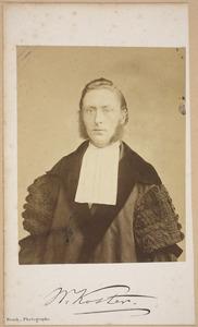 Portret van Willem Koster (1834-1907)