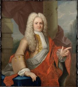 Portret van Mr. Nicolaas van Bronckhorst (1684-1755), echtgenoot van Anna Aletta van Mansveld