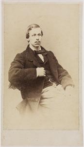 Portret van Alexander baron van Rhemen (1839-1877)