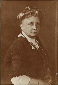 Portret van Anna Adelaïde Abrahams (1849-1930)