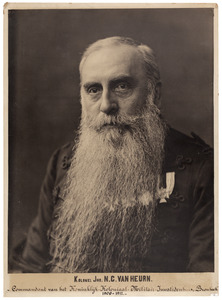 Portret van Nicolaas Cornelis van Heurn (1853-1918)