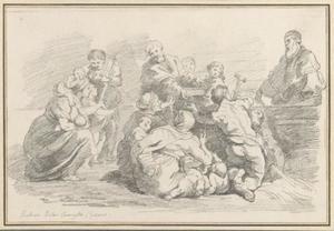 De bekering van Sint-Bavo