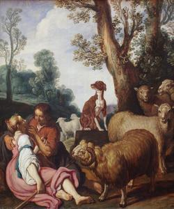 Pastorale scène (Granida en Daifilo)