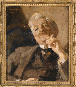 Portret van Gerrit Jan Hofker