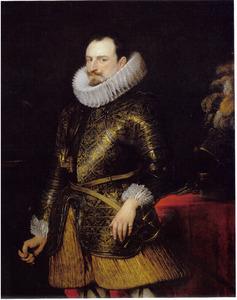 Portret van Emanuele Filiberto van Savoye, prins van Oneglia, onderkoning van Sicilië (1588-1724)