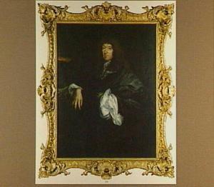 Portret van de dichter Samuel Butler (1612-1680)