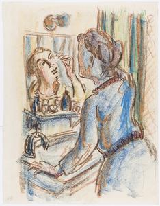 Voor de spiegel