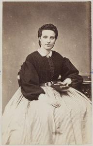 Portret van een vrouw uit familie Teenstra