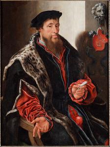 Portret van Andries Willemsz. van Oudshoorn van Sonnevelt (..-1555)