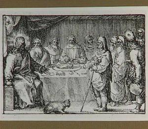 Christus geneest tijdens de Sabbat een waterzuchtige (Lucas 14:1-11)