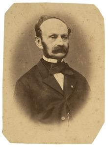 Portret van Johan Bernard van Damme Jalink (1813-1891)