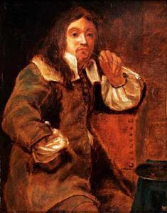 De Reuk: een rokende man