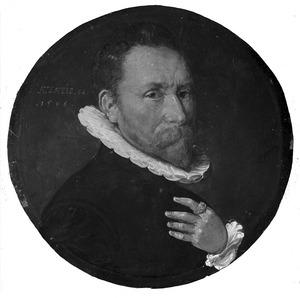 Portret van Cornelis Jan Mourijnsz van de Nijenburg (1530-1610)