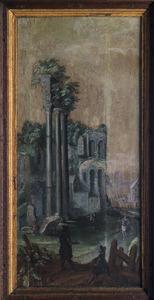 Forum Romanum met tempel van Castor en Pollux